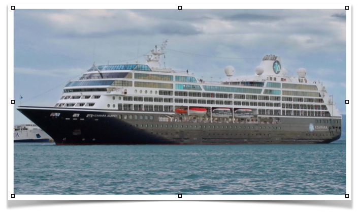 Azamara Journey - Big enough to have all the luxury, small enough to get to exotic river locations